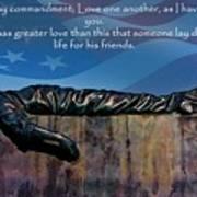 Memorial Day Remember Art Print