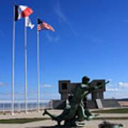 Memorial To The Fallen Soldier Art Print