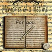 Memories 5 Art Print