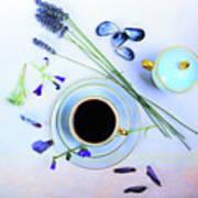 Memories And Coffee Art Print