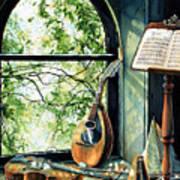 Memories And Music Art Print