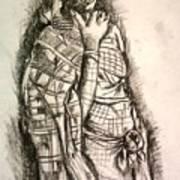 Memories Of Africa Art Print