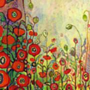 Memories Of Grandmother's Garden Art Print