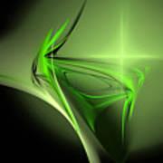 Memories Of Green Art Print
