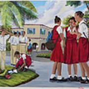 Memories Of High School Art Print