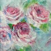 Memories Of Roses Art Print