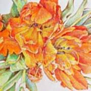 Memories Of Spring Art Print