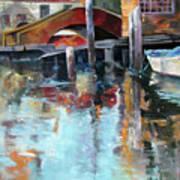 Memories Of Venice Art Print