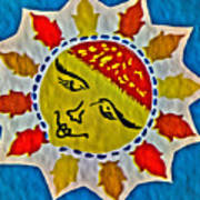 Memory Game Sun Art Print