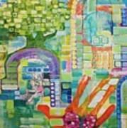 Memory Garden Art Print