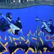 Memphis Blues Art Print