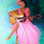 Memphis Minnie Art Print