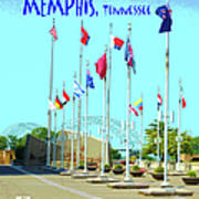 Memphis Today Art Print