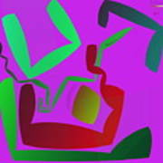 Memory Cube Art Print