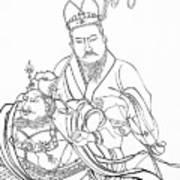 Men Of The East Art Print