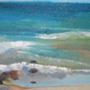 Mendocino Coast-ocean View Art Print