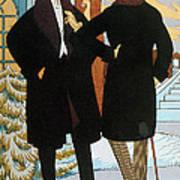Mens Fashion, 1919 Art Print