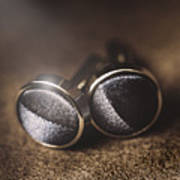 Mens Formalwear Cufflinks Art Print