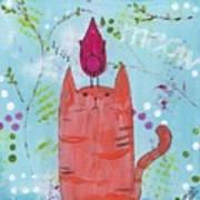 Meow Song Art Print