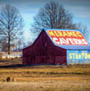 Meramec Caverns Barn Art Print