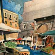 mercato del Pesce Art Print