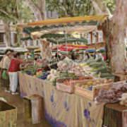 Mercato Provenzale Art Print