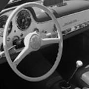 Mercedes 300sl Dashboard Art Print