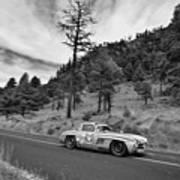 Mercedes Benz 300sl La Carrera Panamericana 2015 Art Print