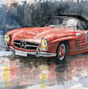 Mercedes Benz 300sl Art Print