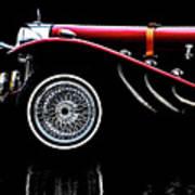 Mercedes Benz Ssk  Art Print