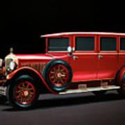 Mercedes-benz Typ 300 Pullman Limousine 1926 Painting Art Print