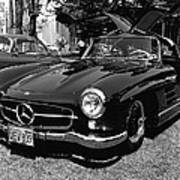 Mercedes Gull Wing Coupe Art Print