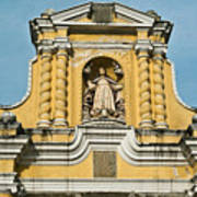 Mercid Church Antigua Guatemala Art Print