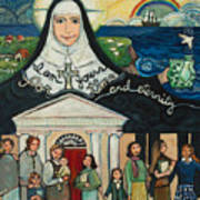 Mercy Foundress Catherine Mcauley Art Print