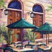Merida Cafe Art Print