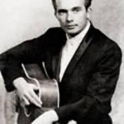 Merle Haggard, Music Legend By John Springfield Art Print
