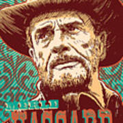 Merle Haggard Pop Art Art Print