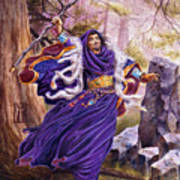 Merlin Art Print