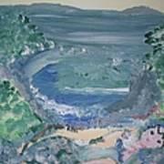 Mermaid Cove Art Print