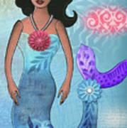 Mermaid Dream 1 Art Print