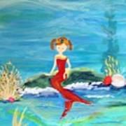 Mermaid Jenna Art Print