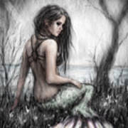 Mermaid's Rest Art Print