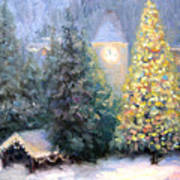 Merry Christmas From Vail Art Print