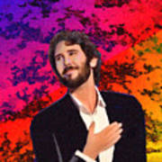 Merry Christmas Josh Groban Art Print