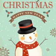Merry Christmas-jp2766 Art Print