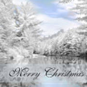 Merry Christmas - Lykens Reservoir Art Print