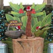 Merry Christmas - Wild Adventures Art Print