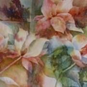 Merry Magnolias Art Print