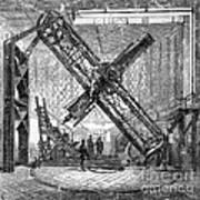Merz Telescope, Royal Observatory Art Print