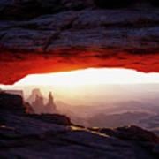 Mesa Arch Sunrise 4 Art Print